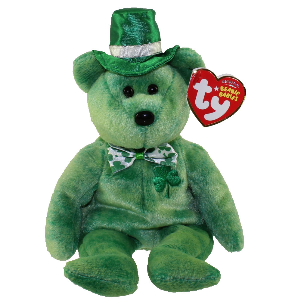 TY Beanie Baby OLUCKY The Bear Internet Exclusive 9