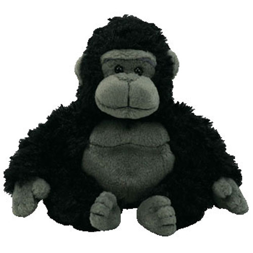 TY Beanie Baby TUMBA The Gorilla 75 Inch Toys Plush Trading Cards
