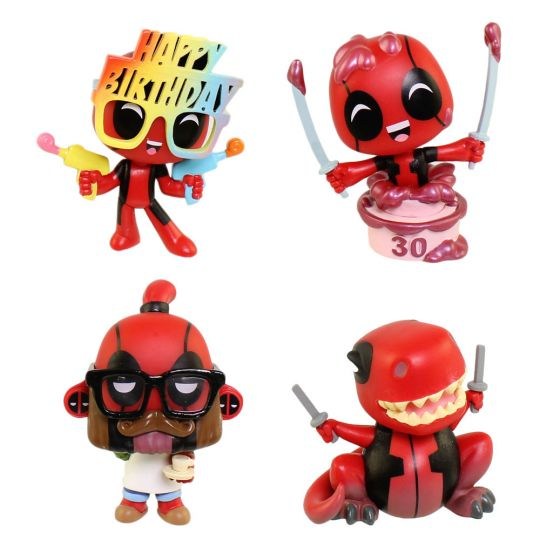 Funko Mystery Minis Figures Deadpool 30th Anniversary Set Of 4 Dinopool Cake Barista 1 Bbtoystore Com Toys Plush Trading Cards Action Figures Games Online Retail Store Shop Sale