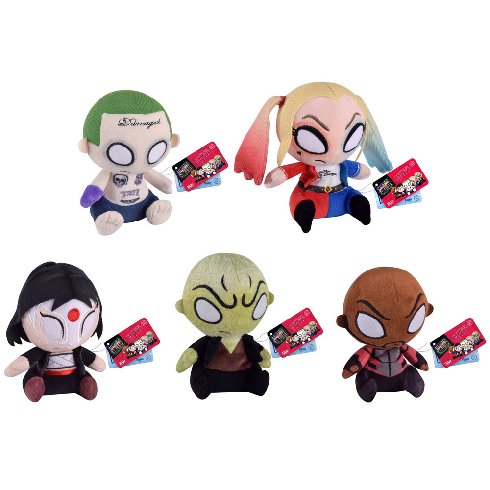 Funko Mopeez Plush Figures Suicide Squad SET OF 5