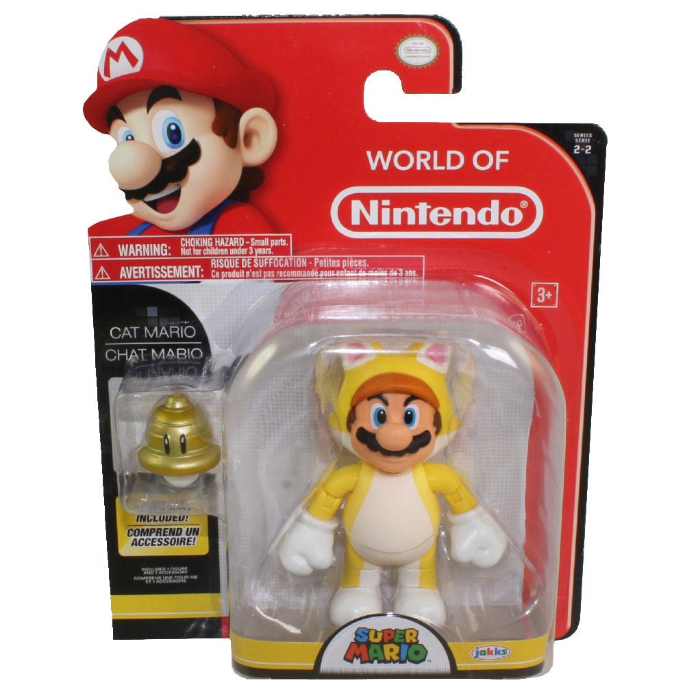 Jakks Pacific Toys World Of Nintendo Wave 7 Figure CAT