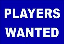 New Players Needed – Current Under 12's (School Year 7) – For Next Season