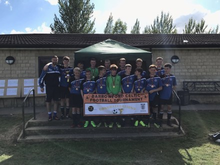 Under 14's – Tournament Winners!