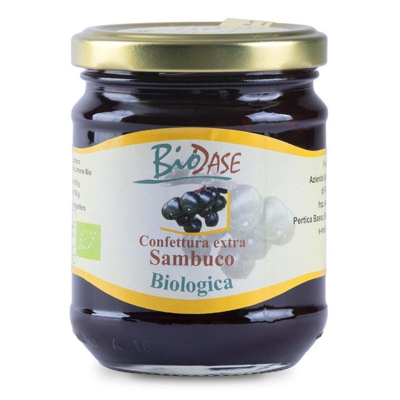 Confettura marmellata di sambuco biologica BioDase