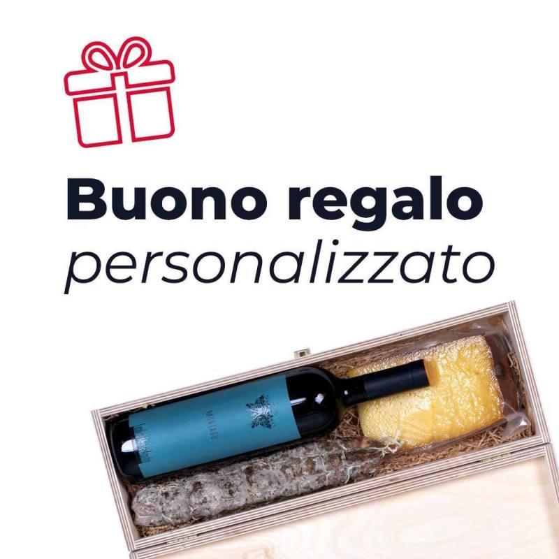 Gift card regalo per prodotti tipici alimentari