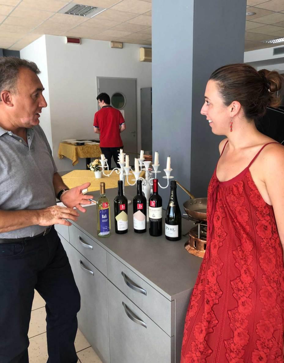 Sommelier Graziano Rubes e Arianna Bonardi di Attivaree Valli Resilienti