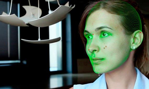 El reconocimiento facial se ha convertido en la gran estrella de la biométrica en los smartphones. Fuente: Vimeo