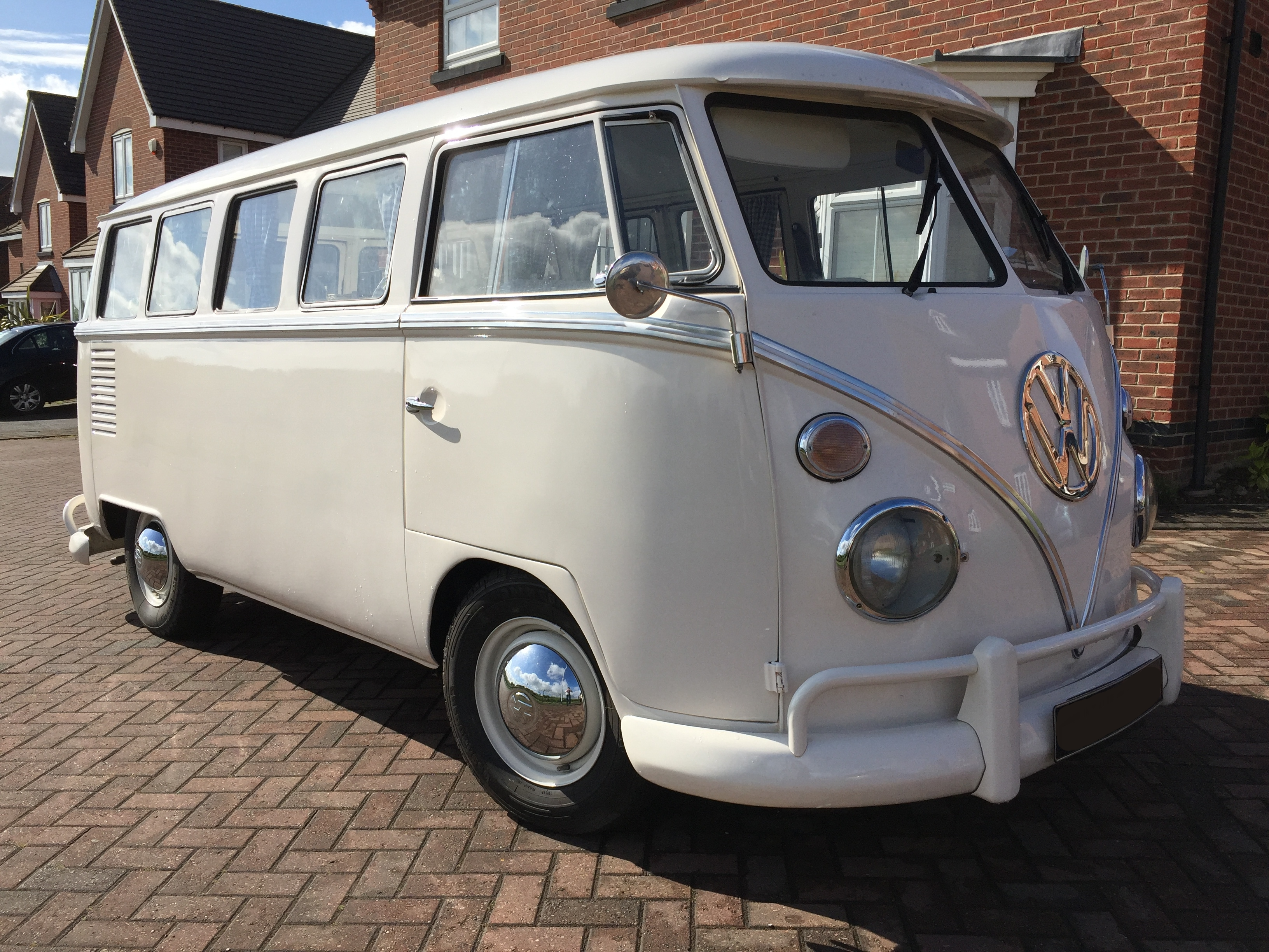 Vw Quote Vw Splitscreen Campervan  White  Bb Wedding Cars Leeds