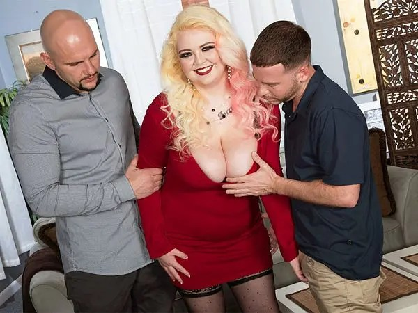 bbw suzumi wilder threesome xxx fat porn blonde