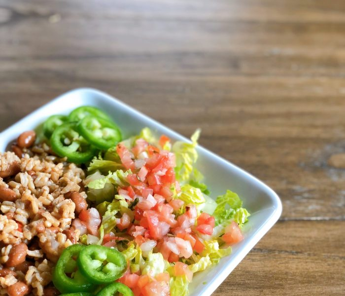 Easy burrito bowls and wine pairing