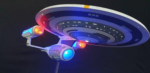 effect led lighting kit for round2 amt u s s enterprise ncc 1701 c 1 1400 model kit