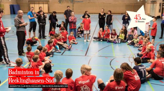 "Der 1. BC Recklinghausen bei ""ALL for Vest Future 5"""