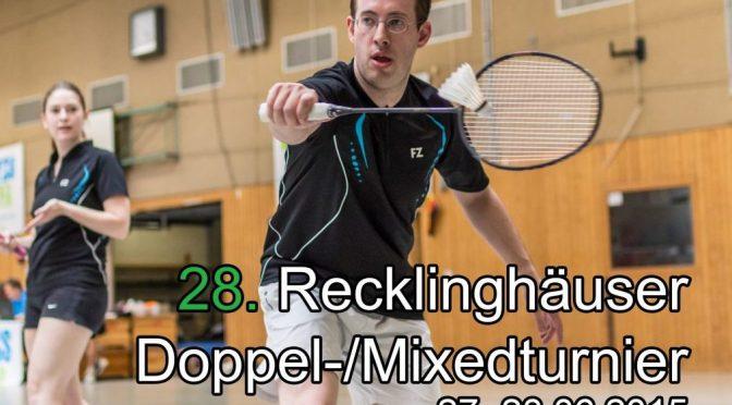 Alle Bilder vom Recklinghäuser-Doppel-Turnier (RDT) 2016