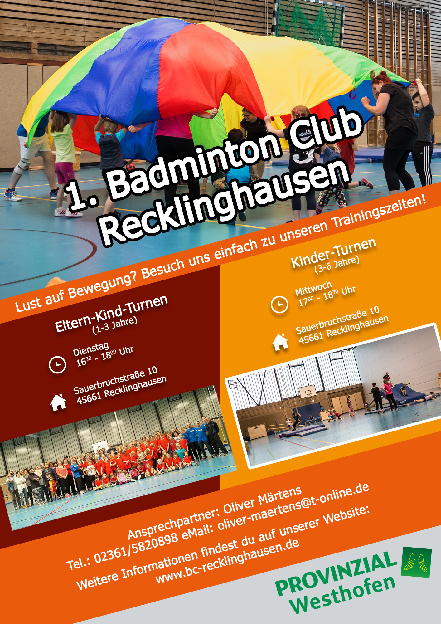 Kinder Turnen 1 Bc Recklinghausen