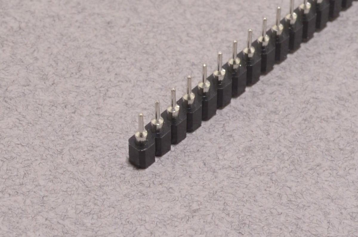 40 Pin Swiss Female Socket Header