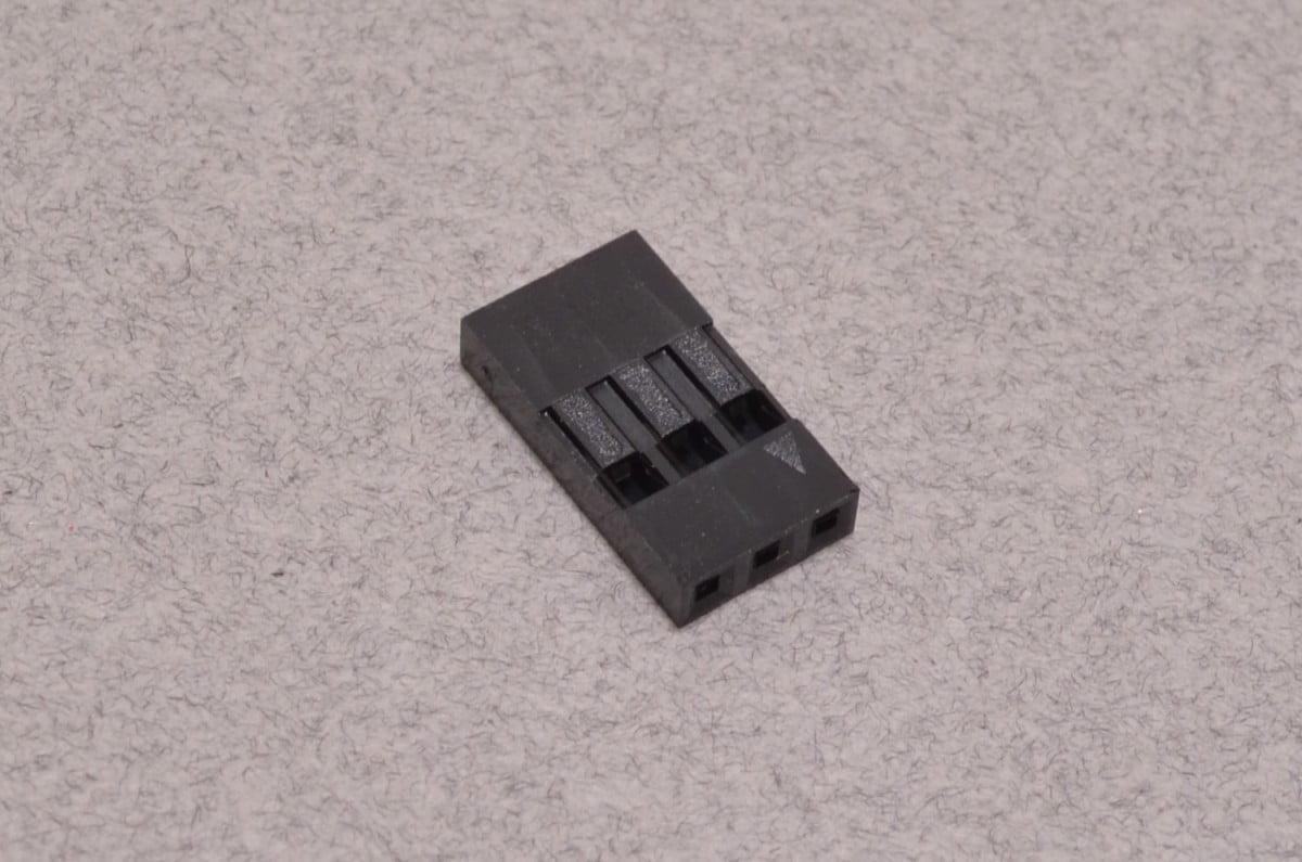 3 Pin Dupont Connector Shroud