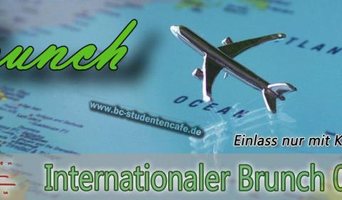 Internationaler Brunch Flyer
