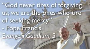 pope francis and mercy