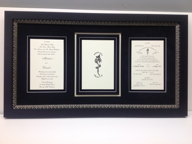 Wedding Invitation Frame It