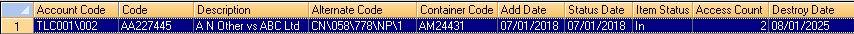 File Details RS-SQL Database