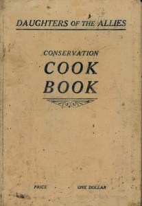 Daughters of the Allies Conservation cook book