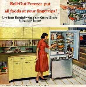 Refrigerator from 1958