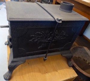 Five-plate cookstove at O'Keefe Ranch, Vernon, BC