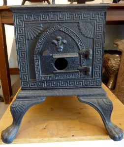 Part of O'Keefe Ranch Cook Stove Collection - 5/6 plate Quebec burner
