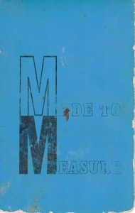 Cover of Made to Measure by Hazel McIntyre