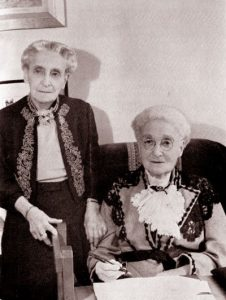 AEdith and Alice Ravenhill in their late 80s.