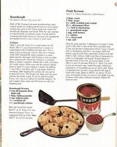 Time Honoured Recipes - Scones and Sourdough