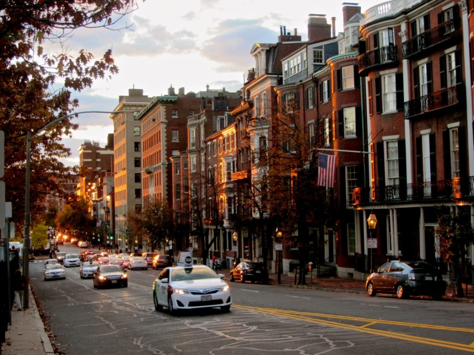 Boston Beacon Street