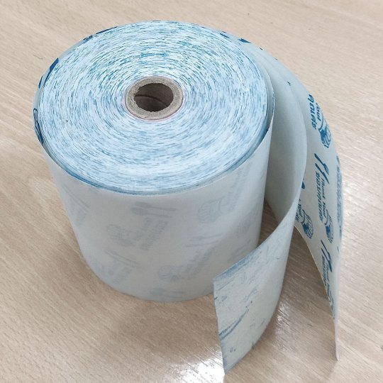 Double layered pos dot matrix printer paper roll