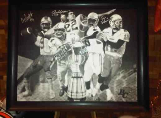 Five Champions Painting - Photo Credit: BCLionDen.ca