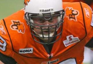 Kelly Bates - Photo: BCLions.com