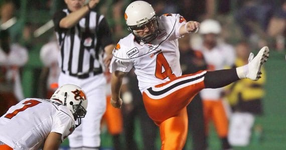 Paul McCallum - Photo Credit: BCLions.com