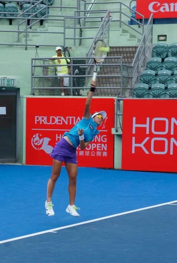 HK Tennis Open 2014 - Tiffany Wu