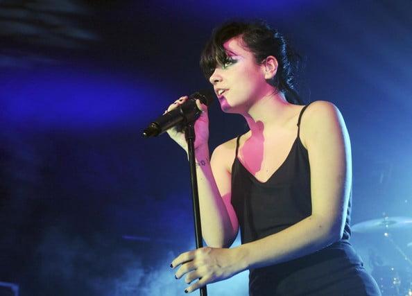 Lily Allen live