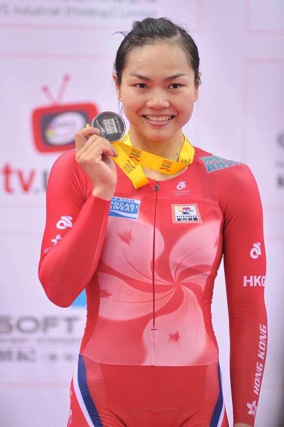 Lee Wai Sze (HKG) - UCI World Cup - HK, 2016.