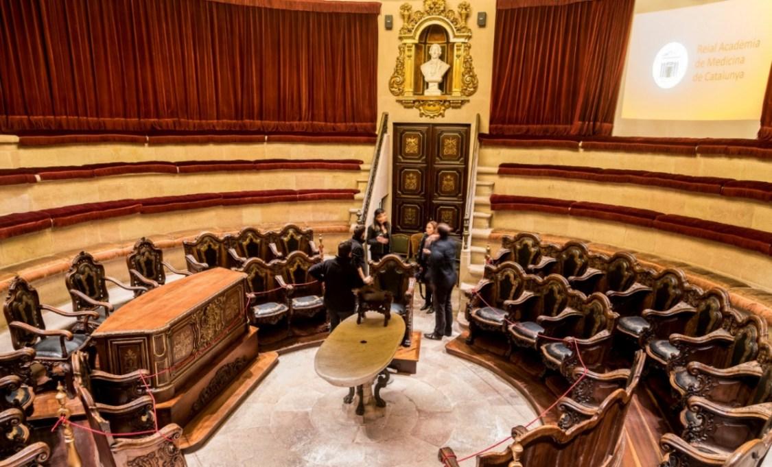 Spots to Visit in Barcelona, Spain: Real Academia de Medicina de Cataluña | Barcelona Film Commission