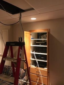 Wireless cabling installation, Testing, repair, and consultation, Telephone system installation, Integration with home automation, Fiber optic installation, Network data cabling, low voltage cabling services for new construction, low voltage cabling services for older buildings