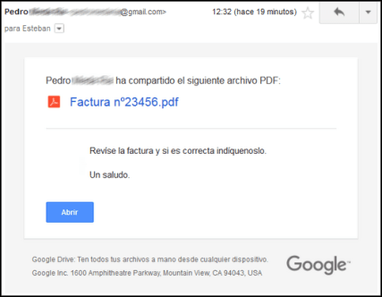 phishing google