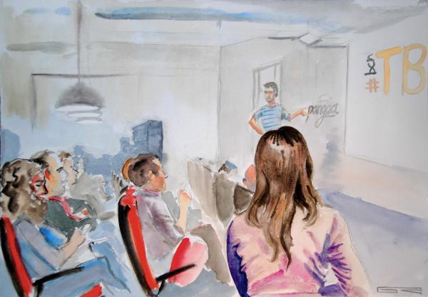 Ilustración del workshop #bcnTBseo