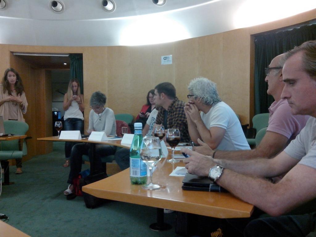 Asamblea mensual de #BcnTb en la Fira de Barcelona