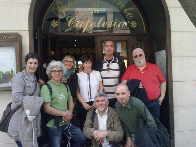 Bloggers de BCNTB a su paso por Calahorra