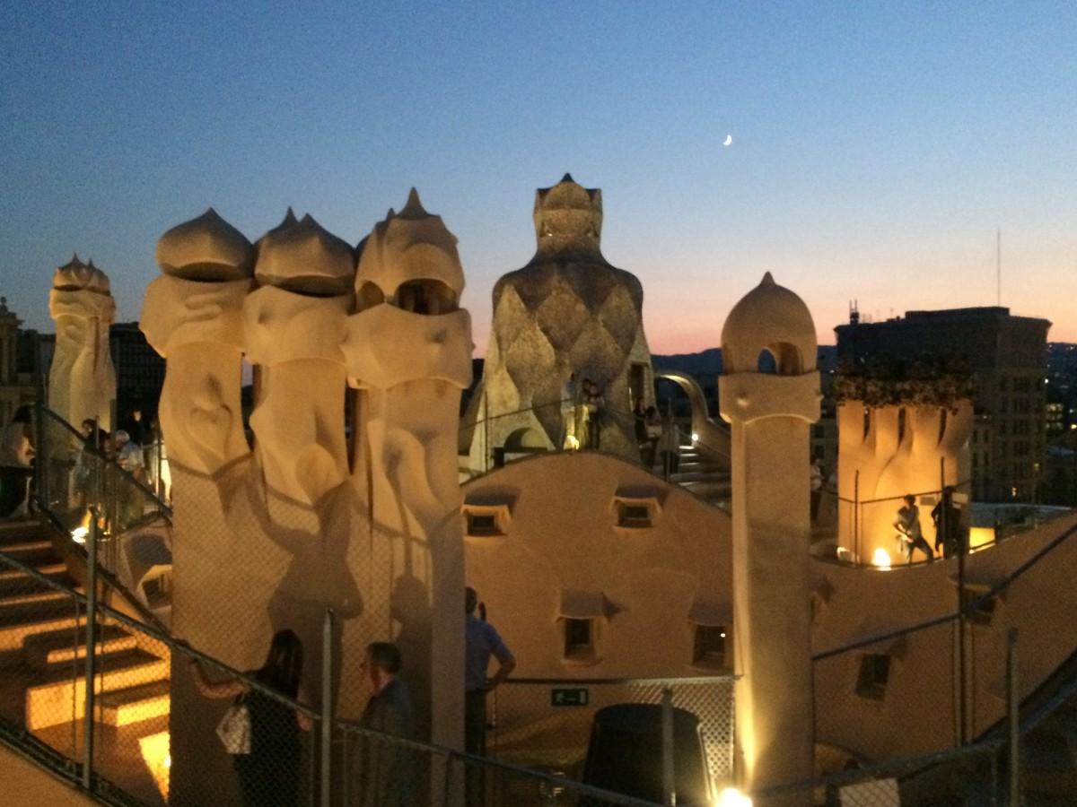 Una noche mágica en La Pedrera