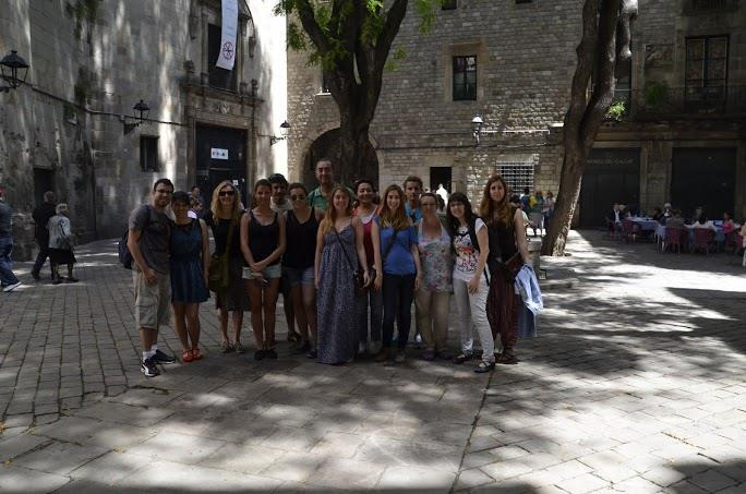 De ruta a pie con Secrets de Barcelona en junio 2014