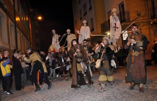 Recorrido de la Noche delas Ánimas de Soria. Foto: diario de Soria