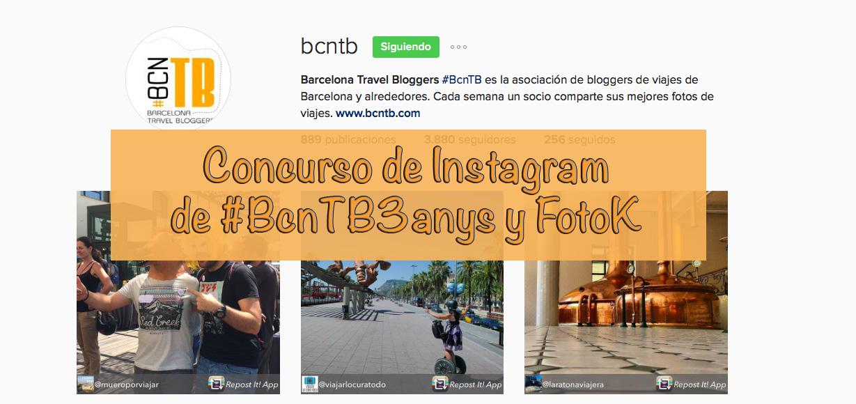 Concurso de Fotografía de Instagram #BcnTB3anys