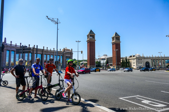 En bicicleta eléctrica por Barcelona
